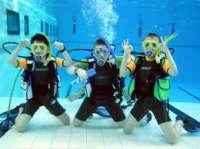 Aquanauta Búvárcentrum gyerek búvártanfolyamon készült fényképe