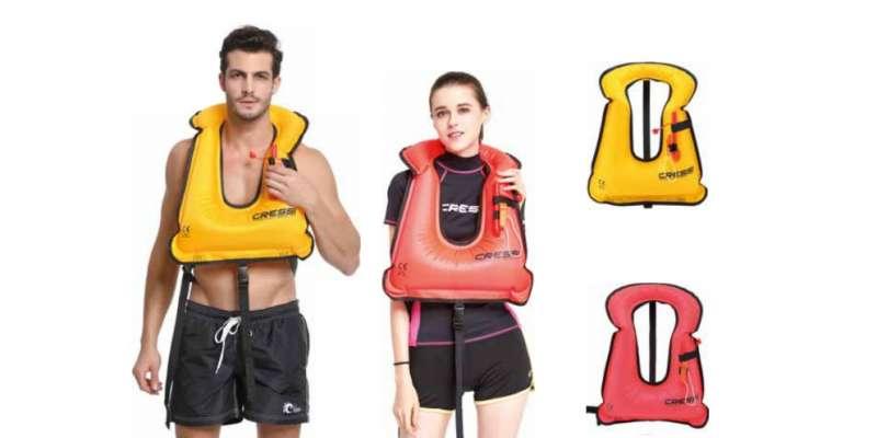 mentőmellény strandoláshoz, sznorkelezéshez