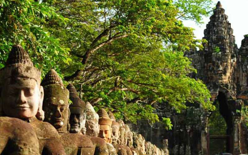 Kambodzsa búvár és nyaraló túra